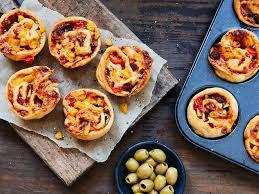 pizza muffins das einfache rezept