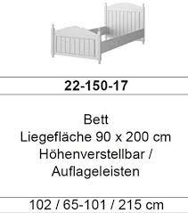 froschkönig24 cinderella premium bett 90x200 cm kiefer weiß