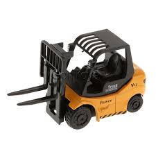 100 Toy Forklift Truck 164 Scale Diecast Car Model Kids Pretend Play