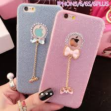 3D Cute Phone Case for iphone 5 5s SE 6 6s Plus 7 7 Plus Glitter