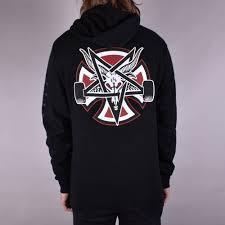 100 Independent Trucks Hoodie X Thrasher Pentagram Cross Pullover