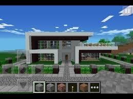 Minecraft Pe Room Decor Ideas by Simple Modern House Minecraft Pe Building Ideas Astounding