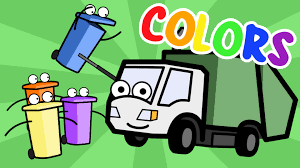 100 Garbage Truck Song Learning Colors With Munchie The Baby Toddler