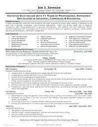 Electrician Resume Sample Doc - Resume Examples   Resume Template