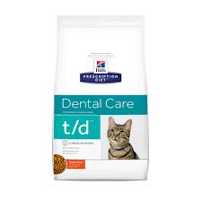cat dental care hill s prescription diet t d dental care chicken flavor cat