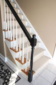 Stair Nice Looking Stair Design With Oak Treads Combine With Black ... Reflections Glass Stair Hand Rail Blueprint Joinery Railings With Black Wrought Iron Balusters And Oak Boxed Oak Staircase Options Stairbox Staircases Internal Pictures Scott Homes Stairs Rails Hardwood Flooring Colorado Ward Best 25 Handrail Ideas On Pinterest Lighting How To Stpaint An Banister The Shortcut Methodno Range By Cheshire Mouldings Renovate Your Renovation My Humongous Diy Fail Kiss My List Parts Handrails Railing Balusters Treads Newels