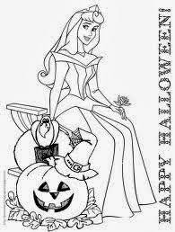 10 Free And Printable Disney Princess Halloween Coloring Pages For Kids