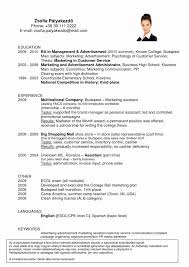 12 New Sample Resume format for Hotel Industry – Resume Format