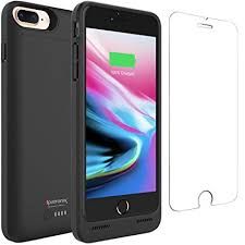 Amazon iPhone 8 Plus Battery Case with Qi Wireless Charging