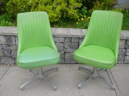 Lime Green Chromcraft Swivel Chairs. | Mid Century | Swivel ... Mid Century Modern Chromcraft Tulip Swivel Barstool Chairs Armchairs Sofas Galerie Zeitloos Fiberglass Lounge Chair By Milo Baughman For Thayer Coggin Star Trek Model Chairs 1960s Set Of 4 Four Chromecraft Ding Sculpta Midcentury Qasynccom Six Alex 181 Chromcraft Lounge Pair Mass Custom With Casters And Tube Steel Armchairs In Lavender