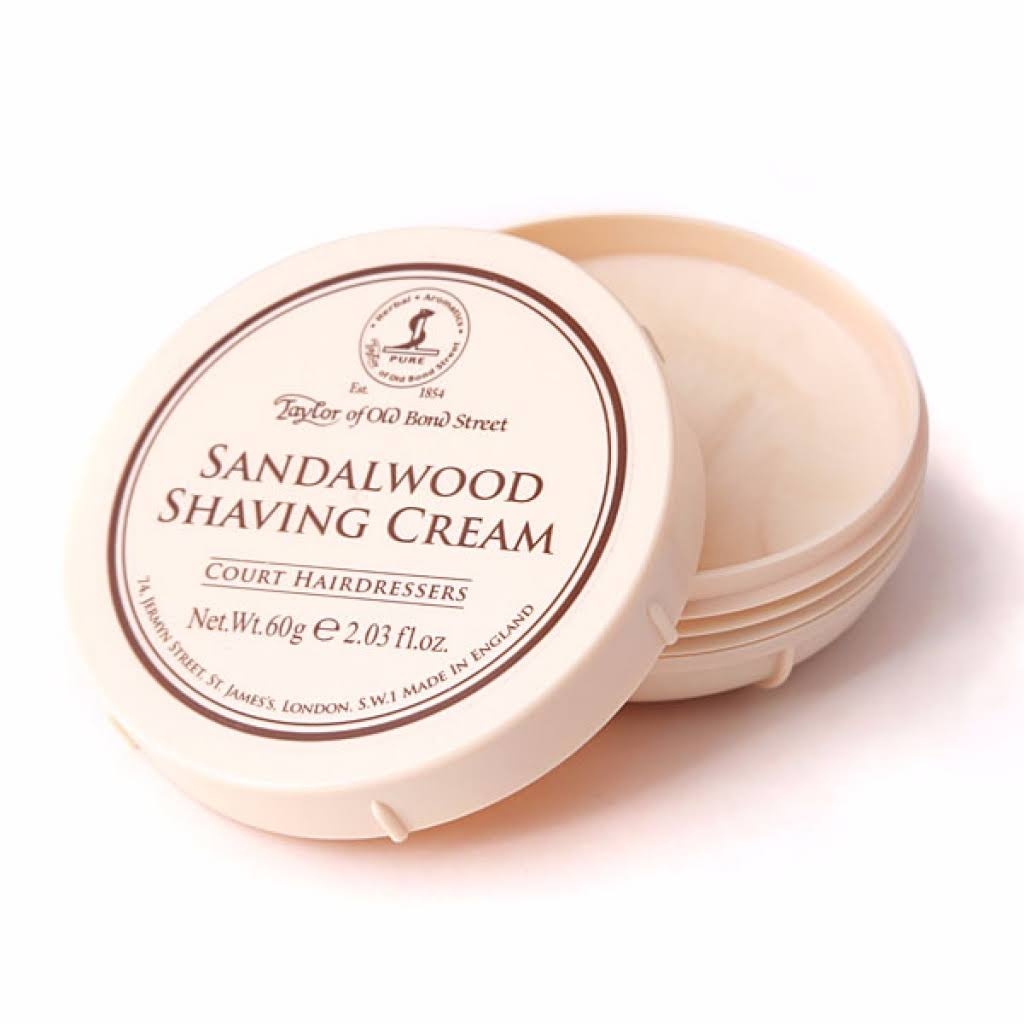 Taylor Of Old Bond Street Sandalwood Shaving Cream - 2.03oz