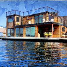 100 Lake Union Houseboat For Sale Seattle Floating Homes Travel Washington In 2019