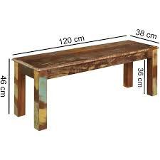 bank 120 cm kalkutta 120cm breit 25 reduziert esszimmer