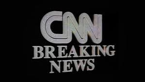CNN Has Gone Through A Variety Of Looks For Its Breaking News Stinger Over The Years But Perhaps Most Iconic Is Monochrome Gray Version With Serif