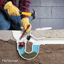 unclog bathtub drain how to unclog a drain the family handyman unclog bathtub drain