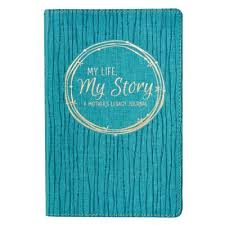 My Life Story Legacy Journal Lux Leather