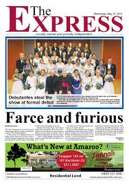 the express newspaper 25th may 2016 by carlo portella issuu