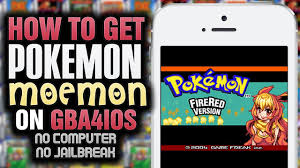 GBA4iOS How To Get Pokemon Moemon Fire Red NO PUTER NO