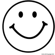 Emoji Coloring Pages Free Download Printable Throughout Happy Face