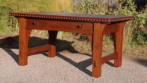 Stickley Furniture Leather Colors voorhees craftsman mission oak furniture gustav stickley early