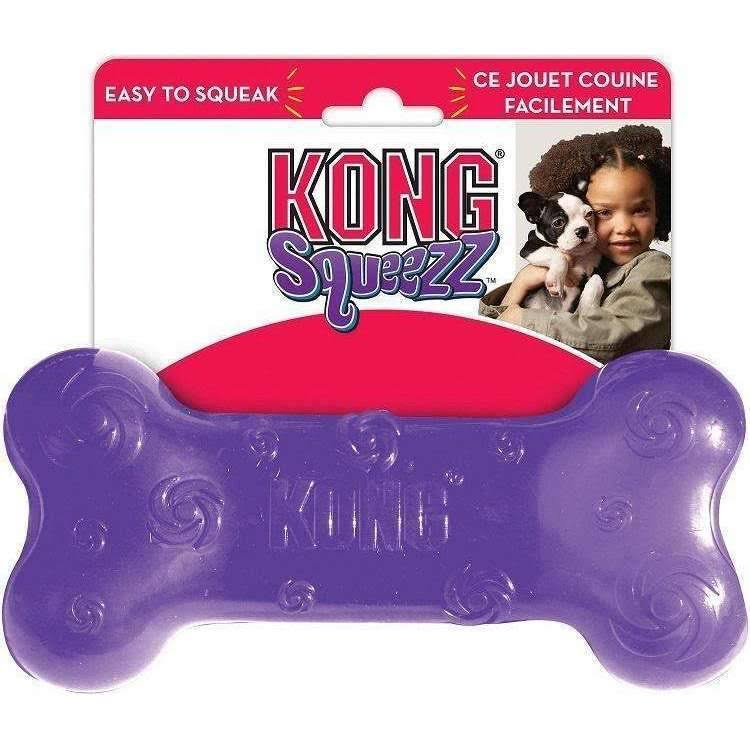 Kong Squeezz Bone Dog Toy - Large