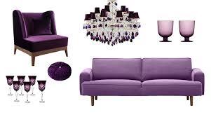 farbe lila bei der raumgestaltung als wandfarbe richtig