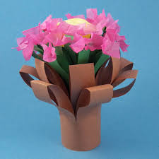 Make A Simple Folded Bouquet Friday Fun Craft Projects Aunt Annie FxRLQKp9