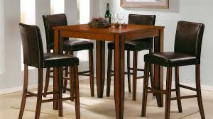 Kitchen Bistro Table And Stools Set For Glass Chairs Indoor ...