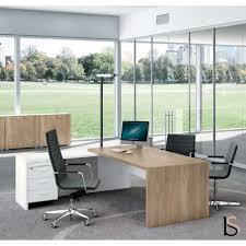 bureau coloré bureau avec retour t45 bi colore quadrifoglio bureaux de directi