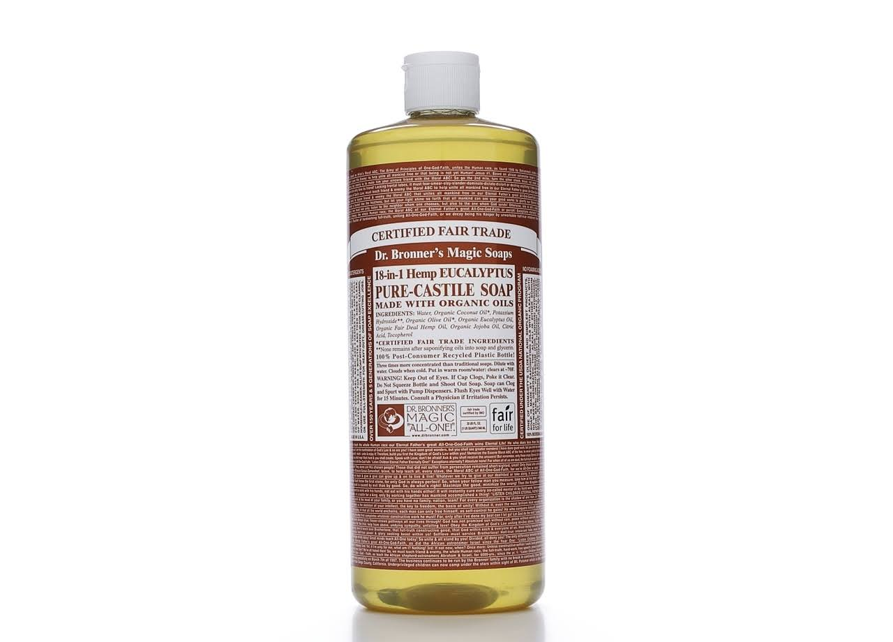Dr. Bronner's Magic Soaps 18-In-1 Hemp Pure-Castile Soap - Eucalyptus