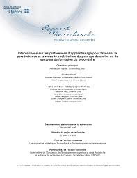 bureau vall cl ent de rivi e self regulated learning a literature review pdf available
