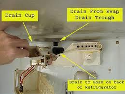 Samsung Refrigerator Leaking Water On Floor by Kitchenaid Refrigerator Leaking Water From Bottom Freezer