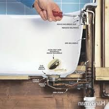Bathtub Pop Up Stopper Stuck by Kohler Bathtub Drain Assembly Toggle Plug Pop Up Stopper Tub Push
