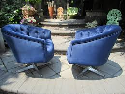 Excellent Pair Of Ward Bennett Swivel Lounge Chairs, Mid-Century Modern