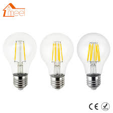 220v 240v led edison bulb dimmable e27 a60 glass housing l