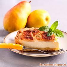 schneller low carb pudding kuchen mit birnen rezept ohne
