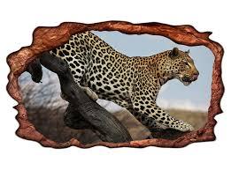 3d wandtattoo leopard tier baum raubkatze afrika selbstklebend wandbild wandsticker wohnzimmer wand aufkleber 11g594 wandtattoos und leinwandbilder