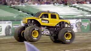 100 Monster Trucks Nashville Heavy D BroDozer Jam Truck Debut Freestyle