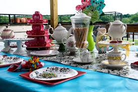 Graduation Table Decorations Homemade by Inexpensive Tablecloth Idea The Polkadot Chair