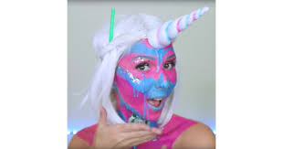 Starbucks Unicorn Frappuccino Halloween Makeup