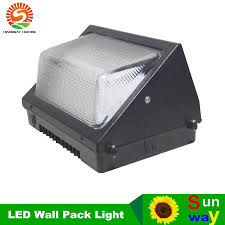 ul dlc outdoor led wall pack light 100w industrial wall mount led