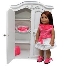 Amazon.com: The Queen's Treasures Victorian Style Armoire. Storage ... Kidkraft Darling Doll Wooden Fniture Set Pink Walmartcom Amazoncom Springfield Armoire Journey Girls Toysrus 18 Inch Clothes Drses Our Generation Dolls Wardrobe Toys For Kashioricom Sofa Armoire Kidkraft Next Little Kidkraft 18inch New Littile Top Youtube Chair And Shop Baby Here