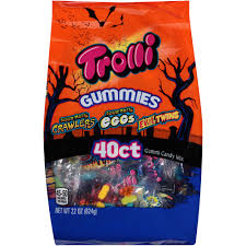 Halloween Candy Carb List by Trolli Gummies Halloween Assorted Gummi Candy Mix 22 Oz 40 Count