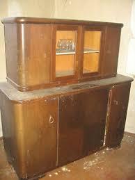details zu echtholz buffet antik alt küche wohnzimmer küchenbuffet schrank büffet