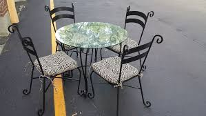 pier one bistro table and chairs valeria furniture