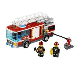 Amazon.com: LEGO City Fire Truck 60002: Toys & Games