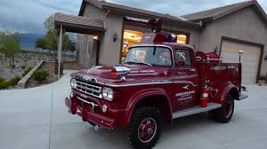 1959 Dodge American LaFrance Fire Truck - YouTube 1959 Dodge Sweptside Pickup T251 Kissimmee 2014 Trucks Advertising Art By Charles Wysocki 1960 Blog D100 Utiline T159 Monterey Hooniverse Truck Thursday Two Pickups Fargo Pickup Trucks Pinterest Famous 2018 15 That Changed The World For Sale Classiccarscom Cc972499 Viewing A Thread Sweptline American Lafrance Fire Youtube