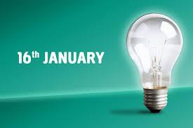 light bulbs on flipboard