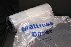 Clear Mattress Cover 38 x 7 x 90 50 Roll