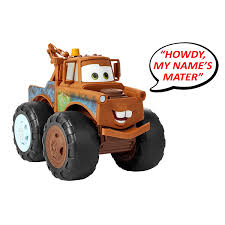 Disney Pixar Cars 3 Tow Mater Truck - Push And Pull Up To 200 Pounds ...